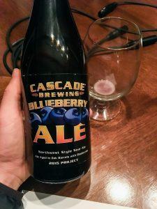 Cascade Brewing Blueberry Ale