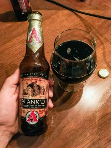 Avery Brewing Co Plank'd